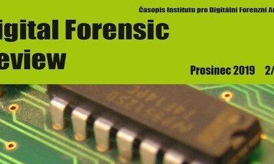 Nové číslo Digital Forensic Review
